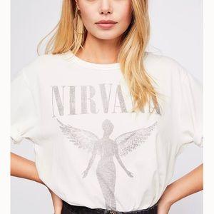 Free People Nirvana tee